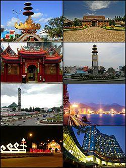 Kota Bandar Lampung Wikipedia Bahasa Indonesia Ensiklopedia Bebas Lungsir Taman