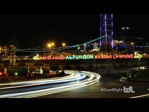 Masjid Al Furqon Bandar Lampung Lungsir Youtube Taman Kota