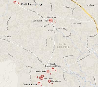 Daftar Mal Bandar Lampung Lengkap Musium Kota