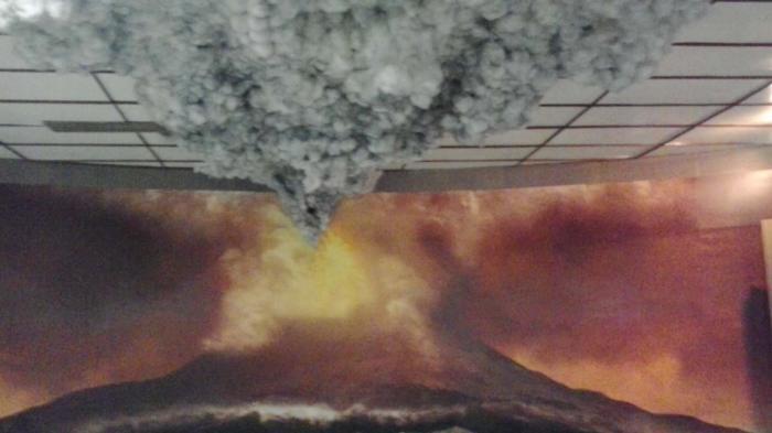 Rasakan Dahsyatnya Letusan Gunung Krakatau Lewat Diorama Museum Lampung Musium