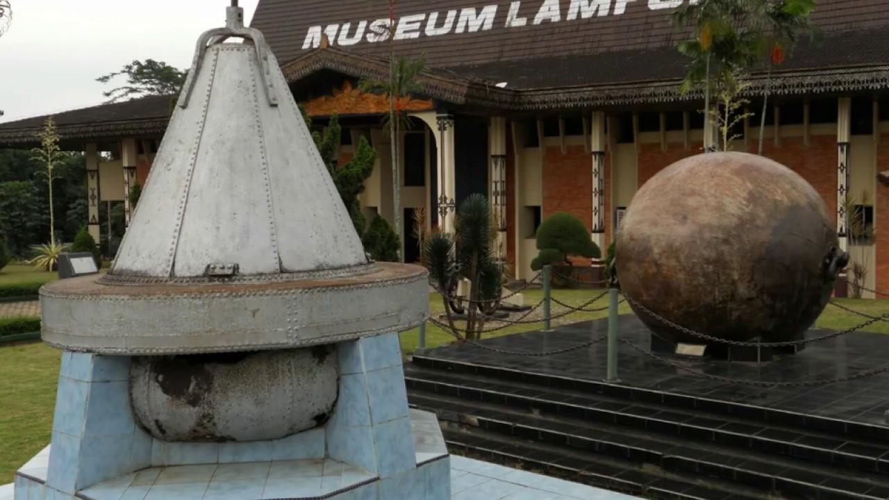 Rumah Adat Lampung Museum Youtube Musium Kota Bandar