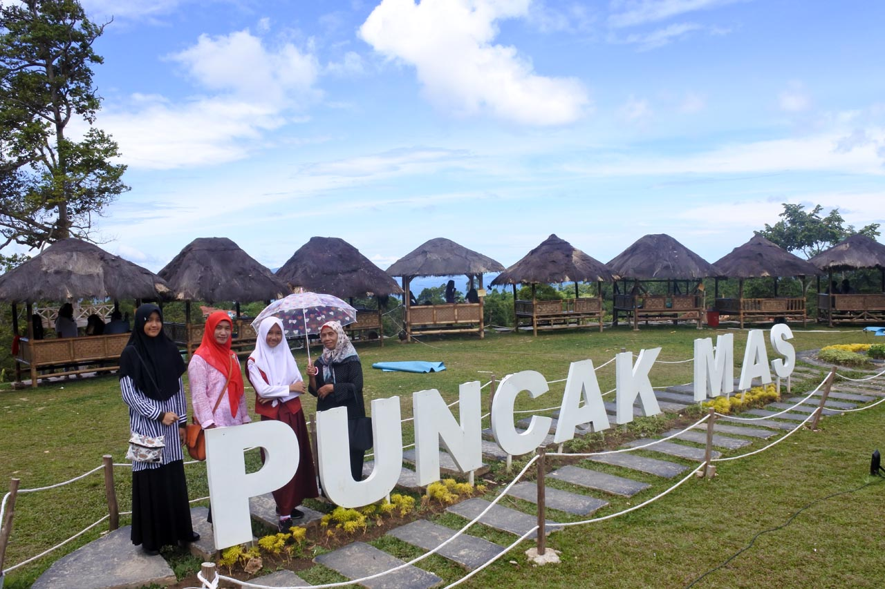 Foto Cantik Puncak Mas Lampung Cerita Jalan Rahma Wisata Bandar