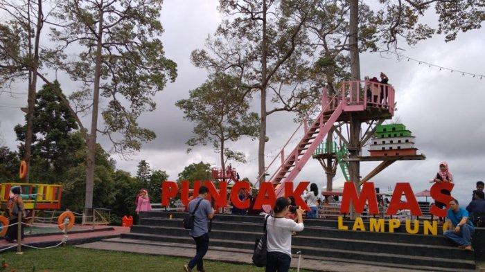 Libur Lebaran Tiket Masuk Puncak Mas Tidak Naik Tribun Lampung