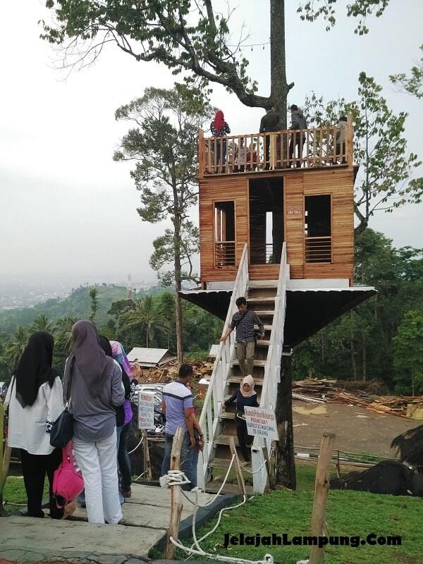 Mengintip Puncak Mas Sukadanaham Tempat Wisata Bandar Lampung Kota