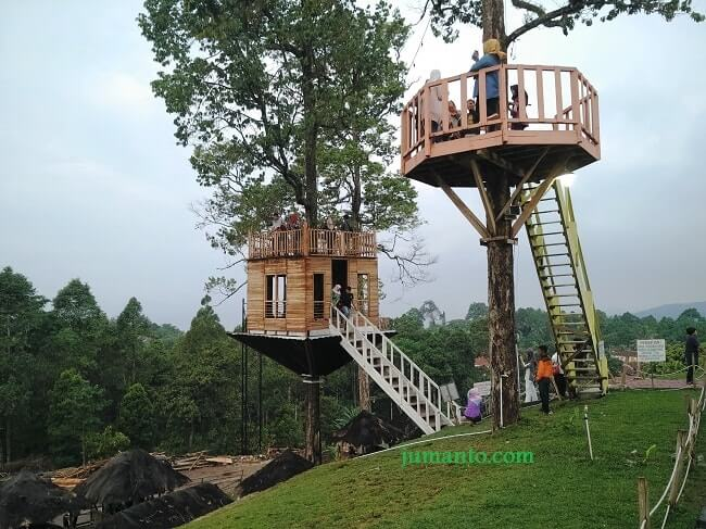 Puncak Mas Lampung Sukadanaham Bikin Klepek Rumah Pohon Kota Bandar
