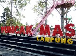 Puncak Mas Lampung Tempat Wisata Keren Bandar Hadir Menjadi Kota