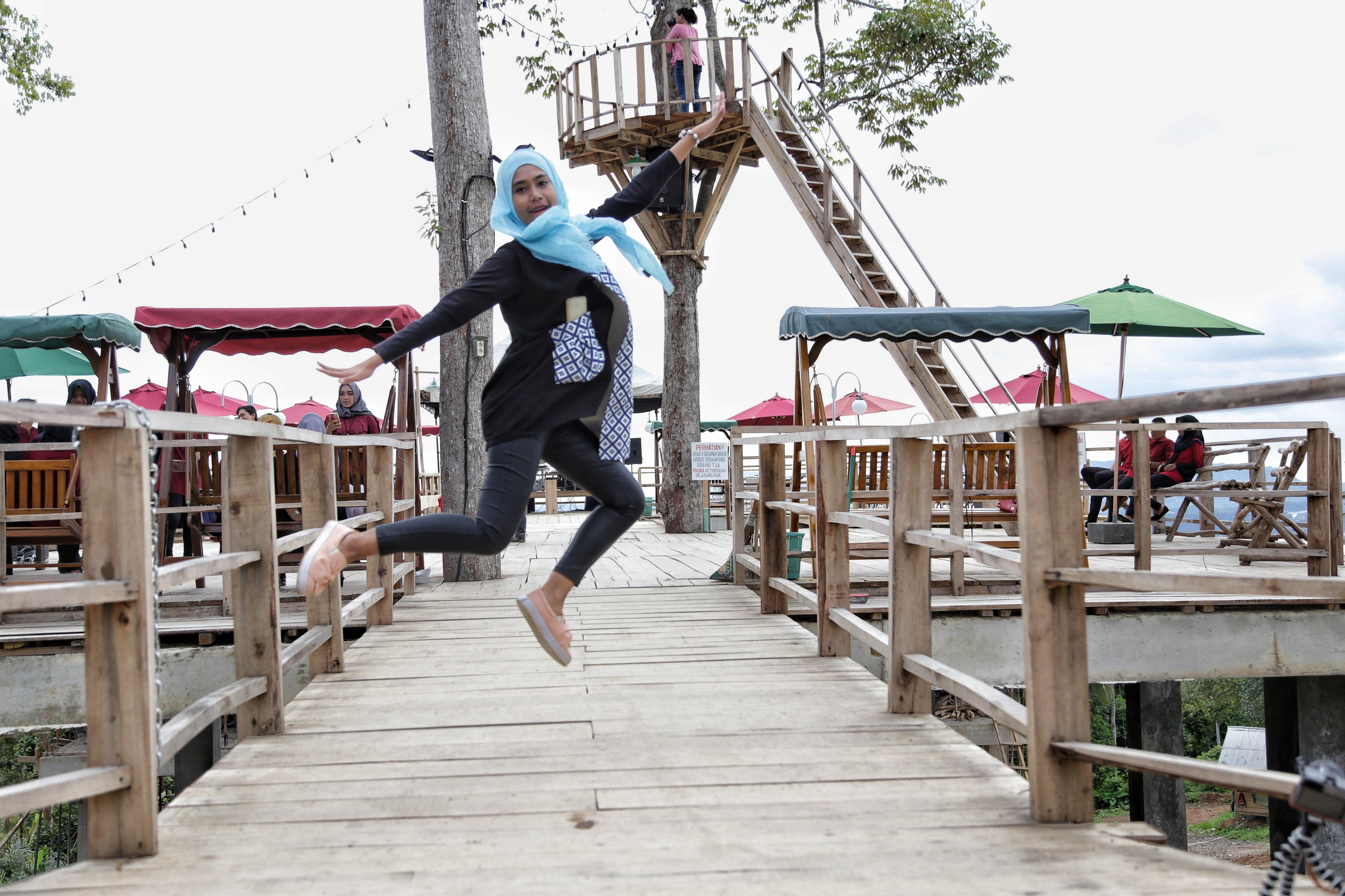 Puncak Mas Lampung Wisata Alam Budaya Indonesia Dunia Loncat Bergembira