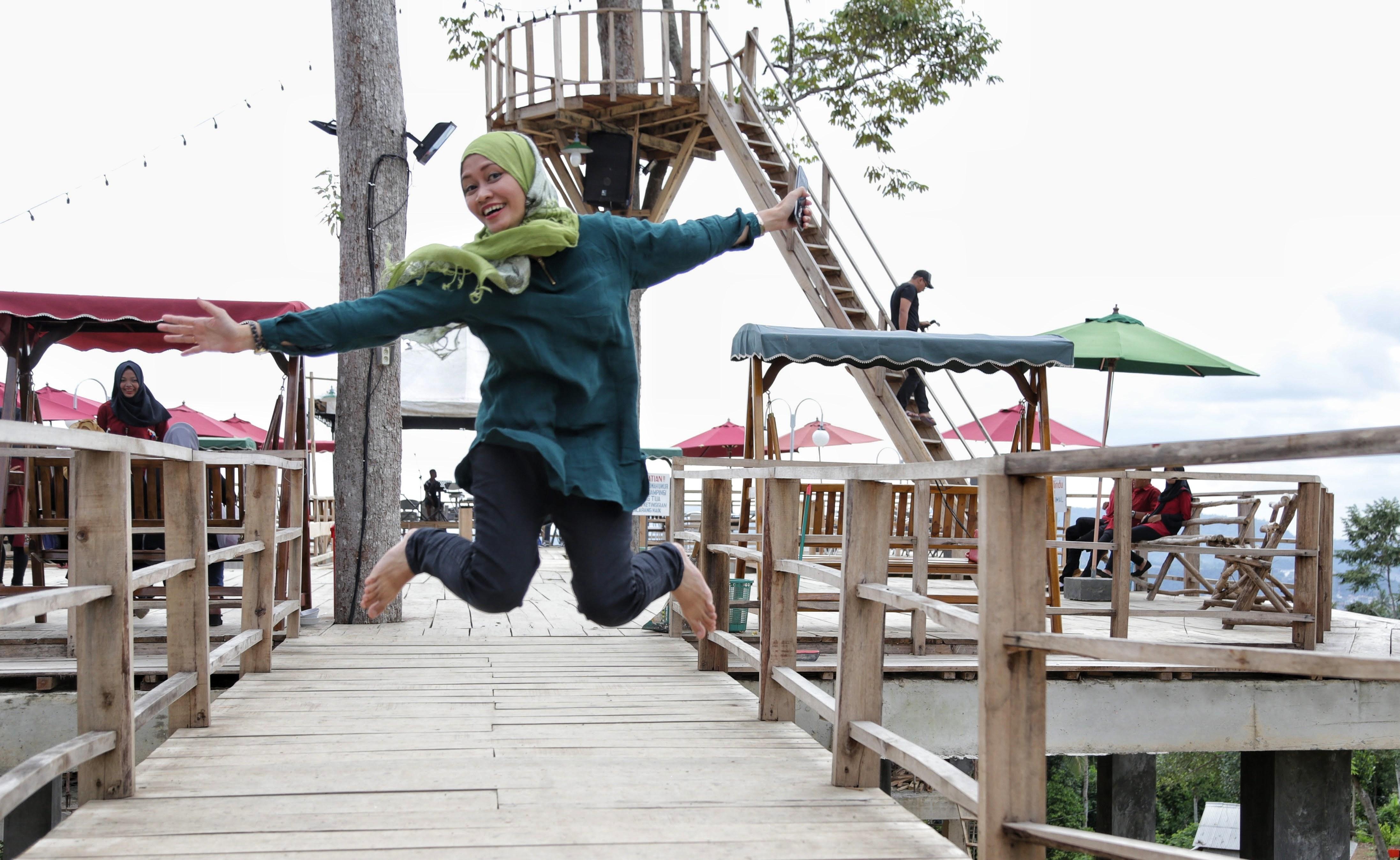 Puncak Mas Lampung Wisata Alam Budaya Indonesia Dunia Tinggikan Loncatannya
