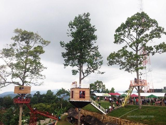 Rumah Pohon Puncak Mas Obyek Wisata Bandar Lampung Berbagi Kisahku
