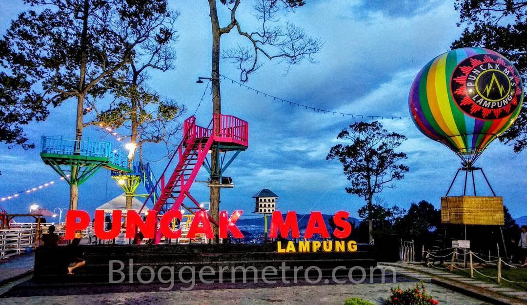 Wista Lampung Puncak Mas Blogger Metro Puncas Temapt Wisata Terbaru