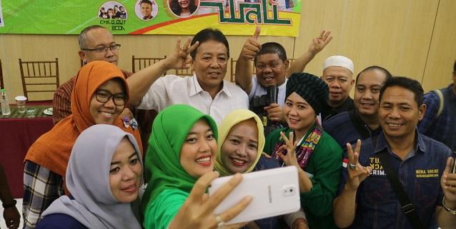 Arinal Nunik Rangkul Pers Membangun Lampung Lampung1 Bandar Calon Gubernur