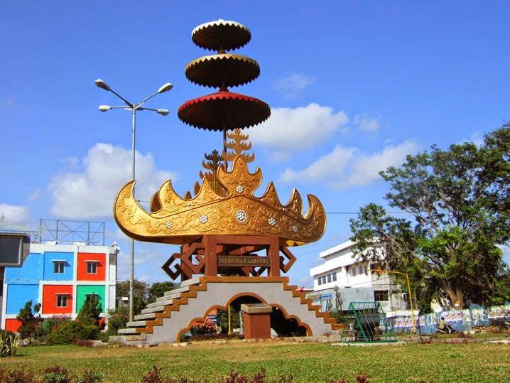 Lampung Sai Story Makna Siger Bumi Ruwa Jurai Semboyan Provinsi
