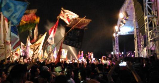 Tiga Tak Konser Lampung Kaka Slank Rindu Bumi Ruwa Jurai