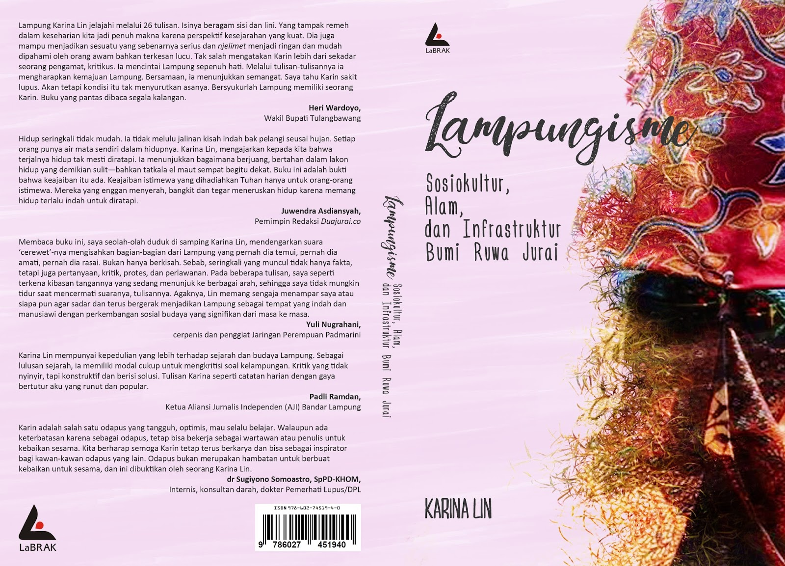Tokoh Lampung Buku Lampungisme Sosiokultur Alam Infrastruktur Bumi Ruwa Jurai