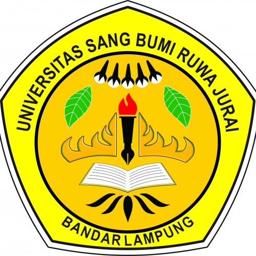 Universitas Bumi Ruwa Jurai Edumor Logo Kota Bandar Lampung