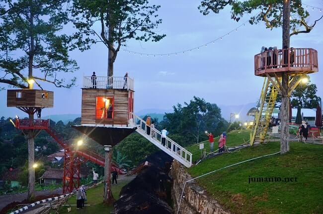 10 Tempat Wisata Bandar Lampung Favorit Puncak Mas Hits Taman