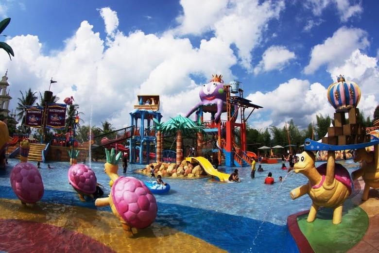 Basah 4 Waterpark Seru Bandar Lampung Citragarden Pariwisatalampung Taman Air