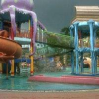 Citra Garden Water Park Bandar Lampung Foto Diambil Oleh Harun