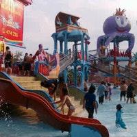Citra Garden Water Park Bandar Lampung Foto Diambil Oleh Nitha