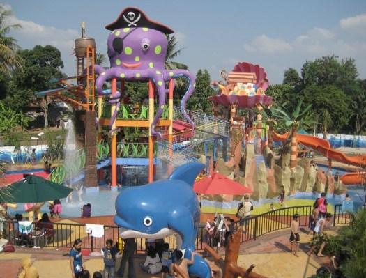 Daya Tarik Obyek Wisata Water Park Citra Garden Lampung Daftar