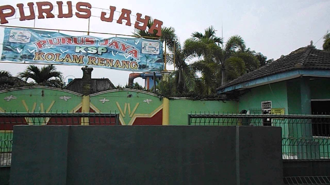 Kolam Renang Purus Jaya Youtube Taman Air Citra Garden Kota