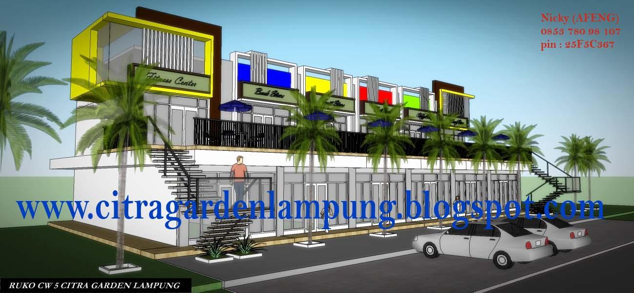 Ruko Dijual Citra Garden Bandar Lampung Gambar Klik Memperbesar Jpg