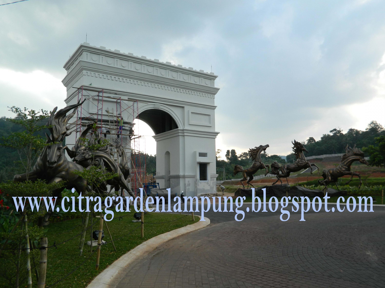 Rumah Dijual Citra Garden Lampung Siap Huni Akhir 2012 Gerbang
