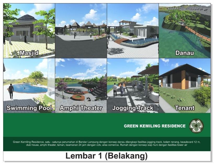 Rumah Dijual Perumahan Dp Kota Bandar Lampung Nunsa Alam Taman