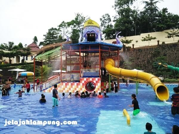 Slanik Waterpark Wahana Air Terbesar Lampung Octopus Kids Fun Taman
