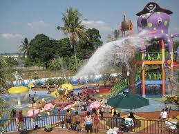 Visit Bandar Lampung Ayo Berkunjung Selamat Wahana Berenang Citra Garden