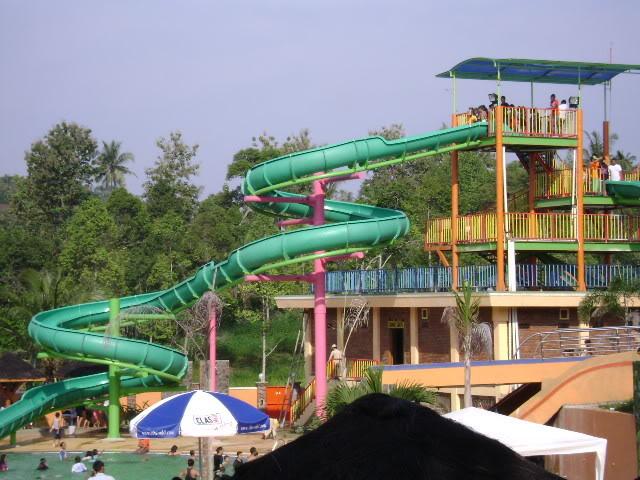 Visit Bandar Lampung Ayo Berkunjung Selamat Waterboom Extreme Water Park