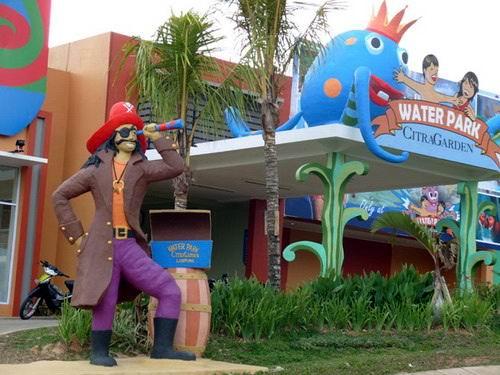 Water Park Citra Garden Indonesian Rating Taman Air Kota Bandar