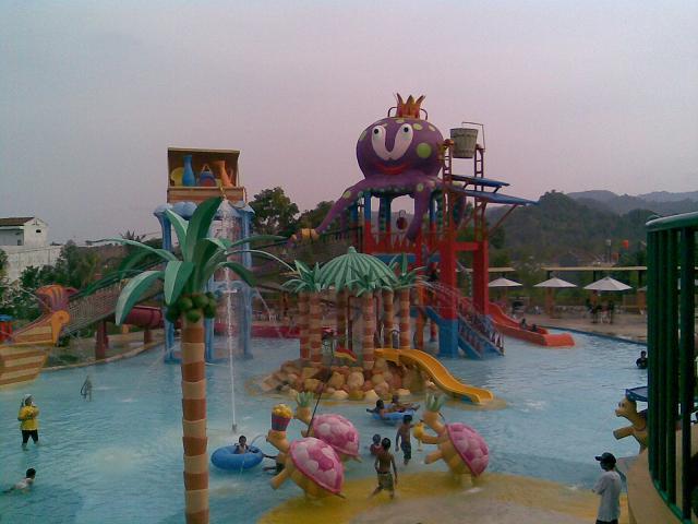 Water Park Citra Garden Lampung Myworld 2 Taman Air Kota