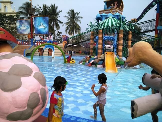 Waterpark Citra Garden Lampung Kolam Renang Anak Banget Taman Air