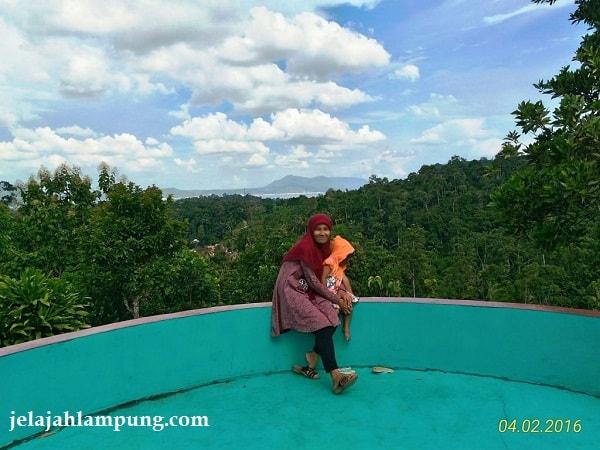 Wira Garden Lampung Tempat Wisata Alam Bandar Adem Pemandangan Laut