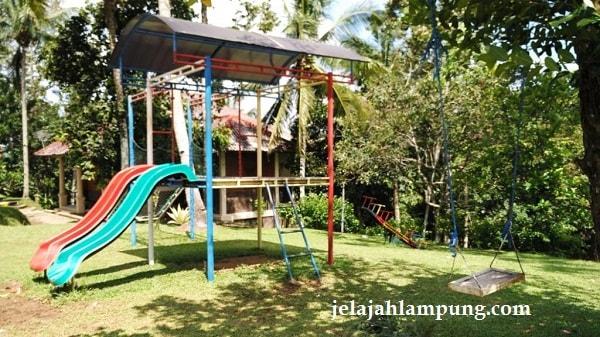 Wira Garden Lampung Tempat Wisata Alam Bandar Adem Taman Bermain