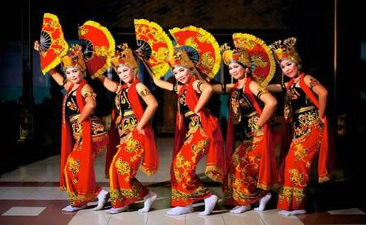 Disdikbud Mesuji Ikuti Festival Tari Kreasi Taman Budaya Bandar Foto