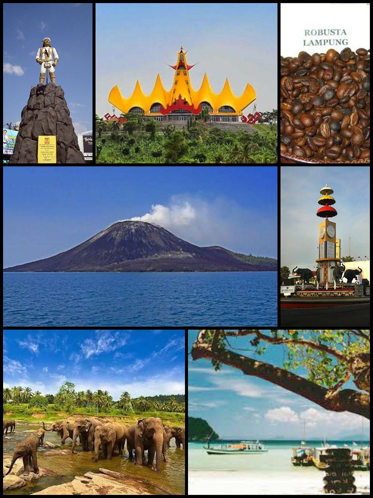 Lampung Wikipedia Bahasa Indonesia Ensiklopedia Bebas Taman Budaya Kota Bandar