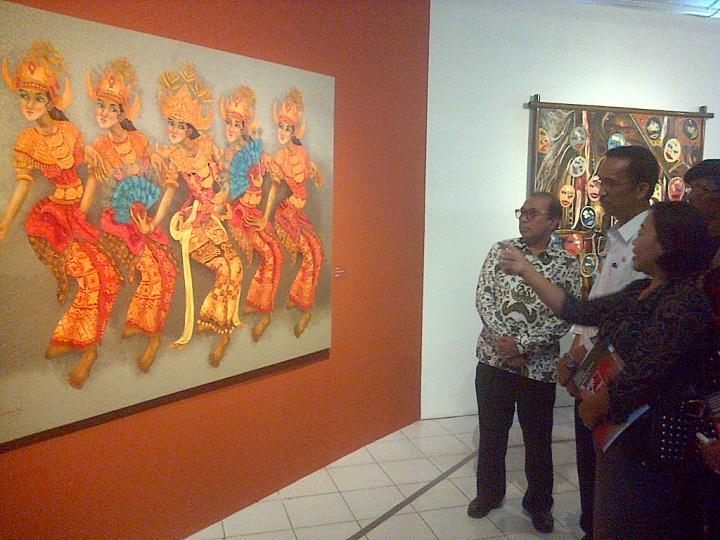 Lihat Puluhan Lukisan Nasional Lokal Taman Budaya Lampung Yuuk Kota