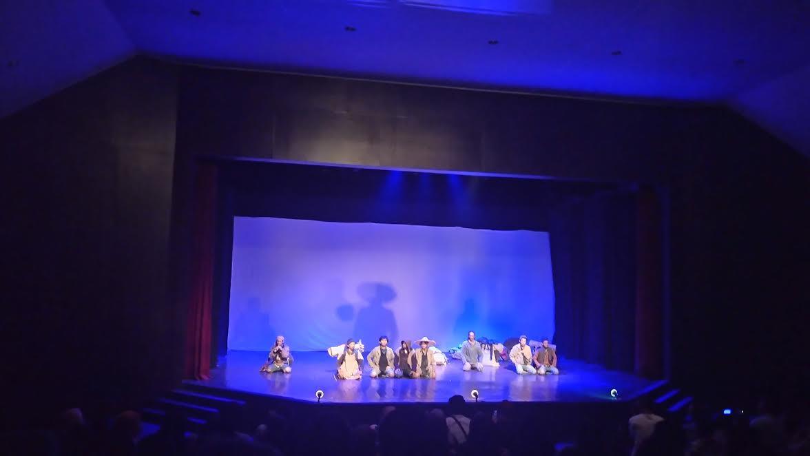 Pagelaran Teater Taman Budaya Lampung Sedot Animo Penonton Penampilan Lakon
