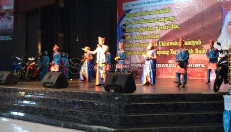 Qasidah Sma Negeri 1 Bandar Lampung Motor Grup Taman Budaya