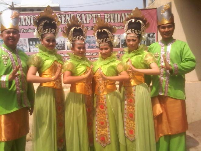 Sapta Budaya Berproses Mengawal Tradisional Sanggar Taman Lampung Kota Bandar