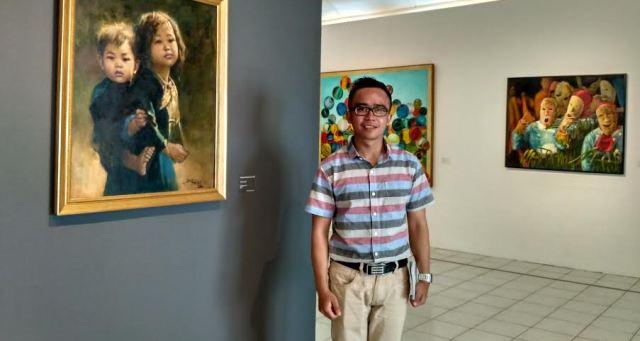 Taman Budaya Lampung Duajurai Bandar Pameran Seni Rupa Bertajuk Spirit