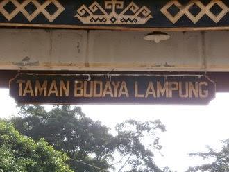 Taman Budaya Provinsi Lampung Terletak Jalan Cut Nyak Dhien Nomor