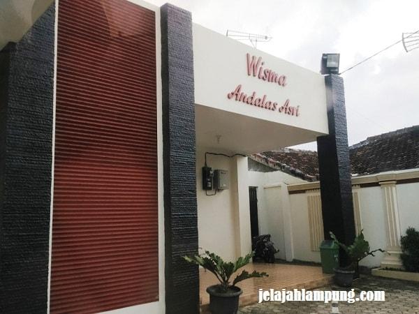 Wisma Andalas Asri Penginapan Murah Bandar Lampung Dekat Kantor Foto