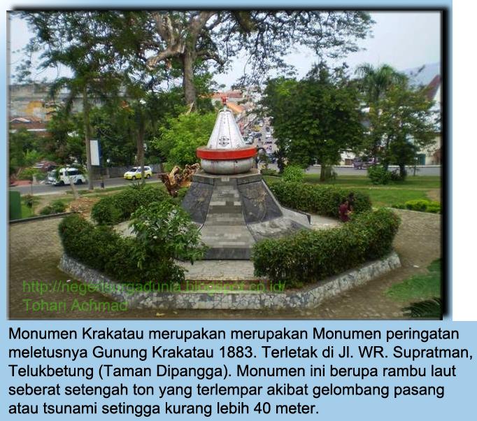 Bandar Lampung Taman Dipangga Kota