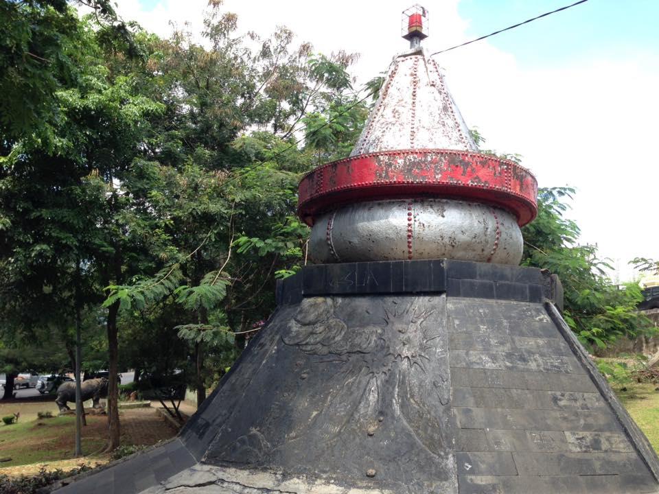 Kampung De Broh Taman Dipangga Jejak Sejarah Letusan Gunung Bentuk