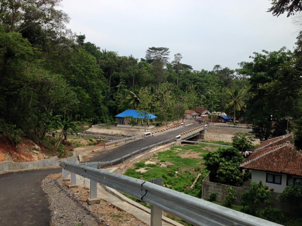 Kampung De Broh Taman Dipangga Jejak Sejarah Letusan Gunung Kawasan