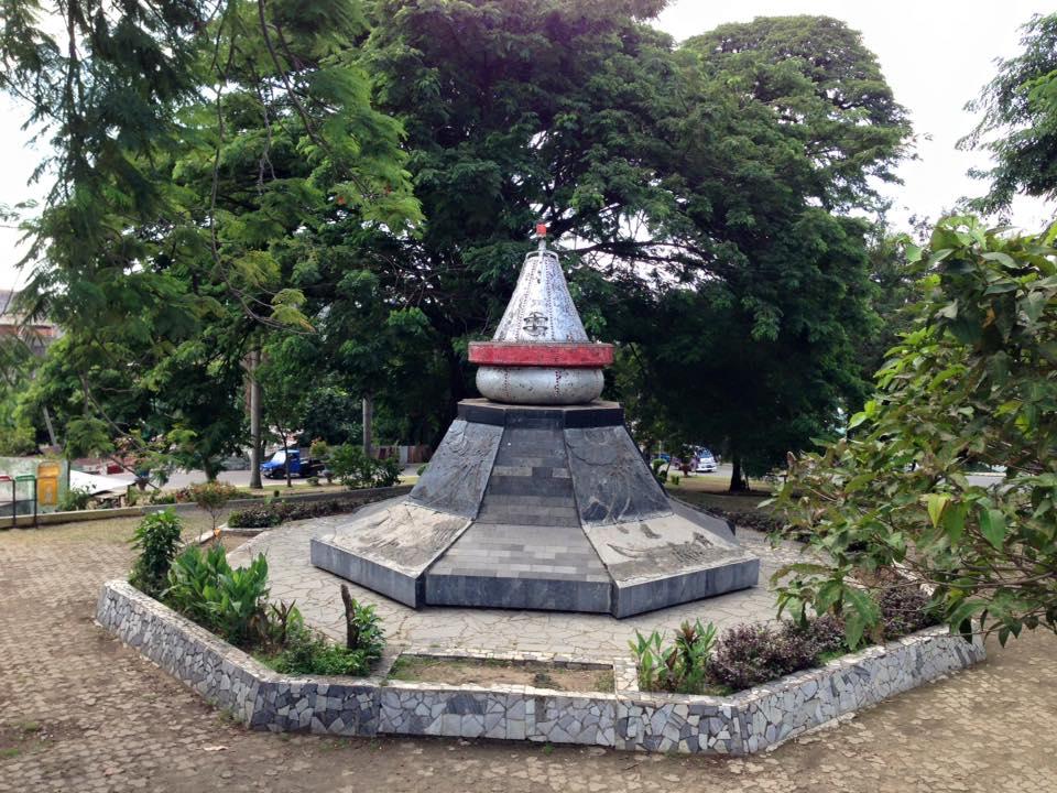 Kampung De Broh Taman Dipangga Jejak Sejarah Letusan Gunung Tugu