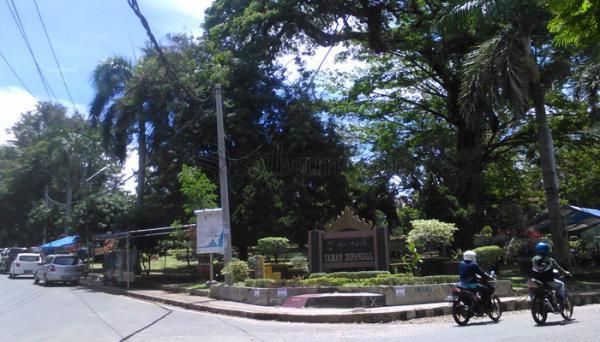Kupangkota Minta Taman Dwipangga Diperhatikan Pemkot Bandar Lampung Warga Dipangga